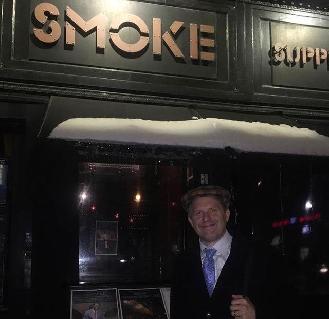 Joe Farnsworth, drummer at Smoke Jazz & Supper Club