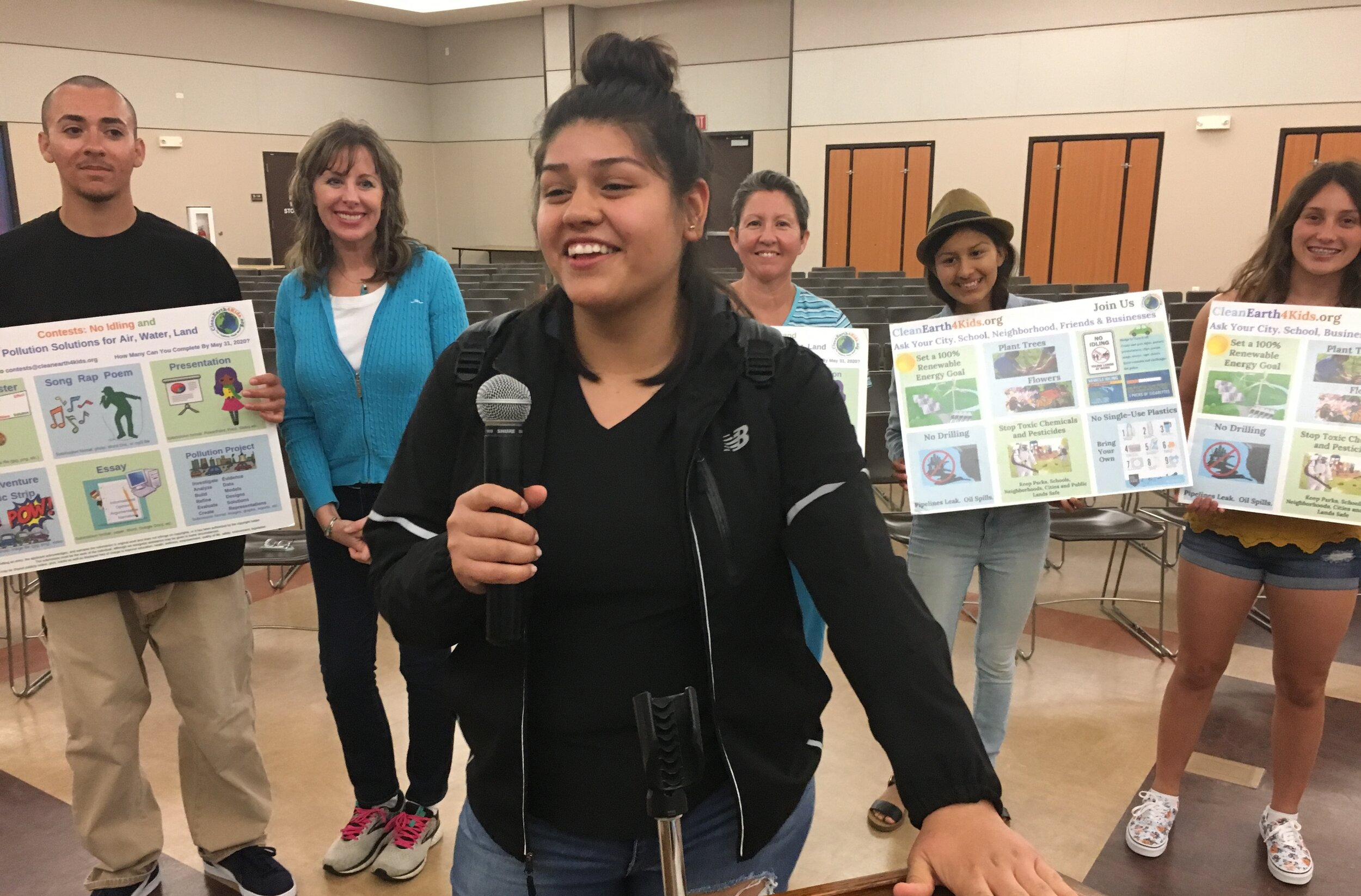 CleanEarth4Kids helped pass a Climate Resolution in Oceanside Unified