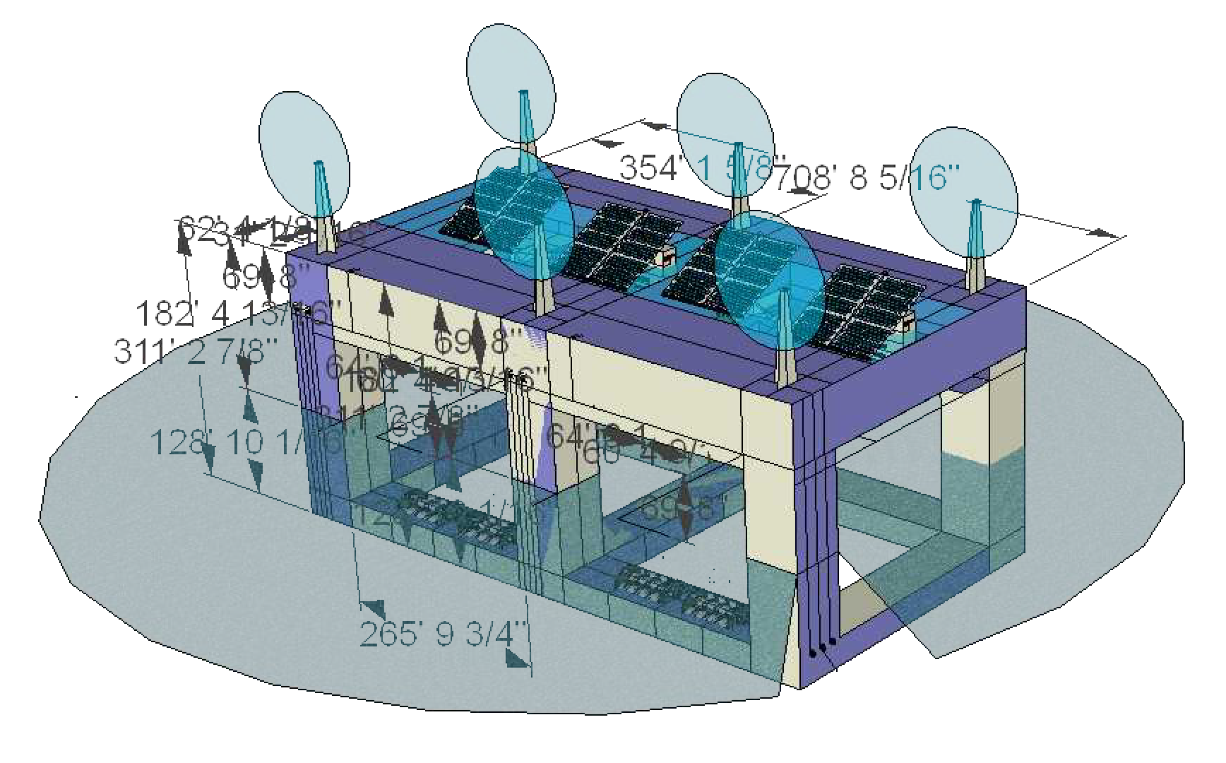 Combine Wind, Solar and Wave energy generation in a single platform