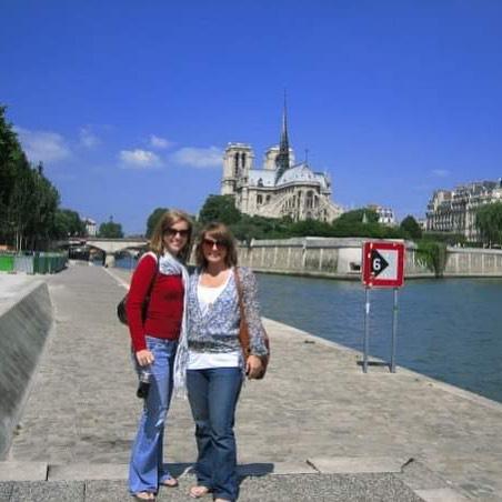 ❤️ Paris 2006 💙 . . . #paris #France #notredame