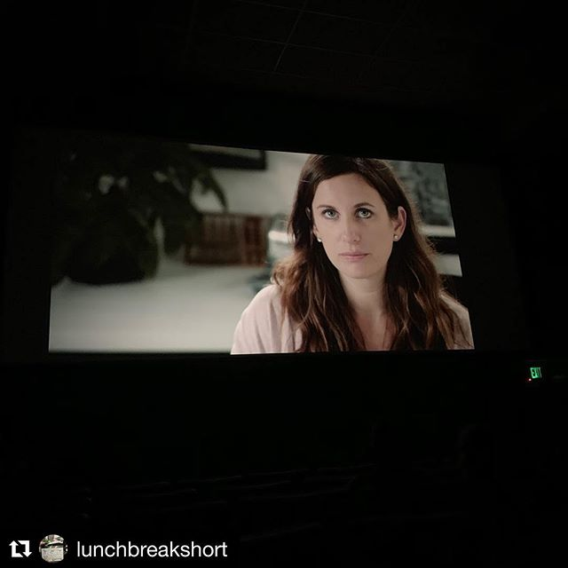 @lunchbreakshort rocks Cleveland! Can't thank @clefilmfest enough for such an incredible experience. Full house screening. Amazing films and filmmakers. Wonderful volunteers and staff. And thanks to a few of our stellar producers for making this an extra special event. And, as always, thanks to our talented cast and crew! 🎥. ( 📷: @denise.p.smith.58 ) . . . #clevelandinternationalfilmfestival #femalefilmmakerfriday #filmmakers #shortfilm #filmfestival #cleveland #screening #ciff43