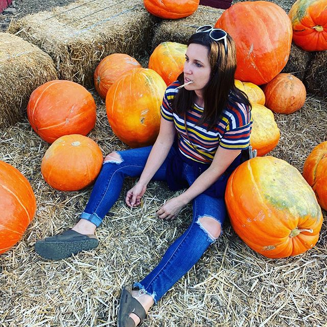 Lil punkins 🎃 . . .  #October #fall #pumpkinpatch