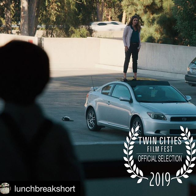 We're very excited and honored to be screening @twincitiesfilmfest next Monday and Tuesday night at 8:30 pm in the shorts block The Present is Female. To all our friends in Minneapolis, we hope you can make it! . . . #twincities #filmfestival #femalefilmmakers #lunchbreakshortfilm #shortfilm #thepresentisfemale #comedy #dramedy #filmmakers
