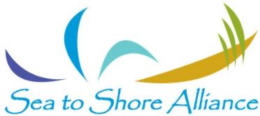Sea to Shore Alliance logo.