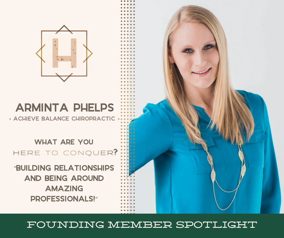 Dr. Arminta Phelps, D.C. - Owner of Achieve Balance Chiropractic