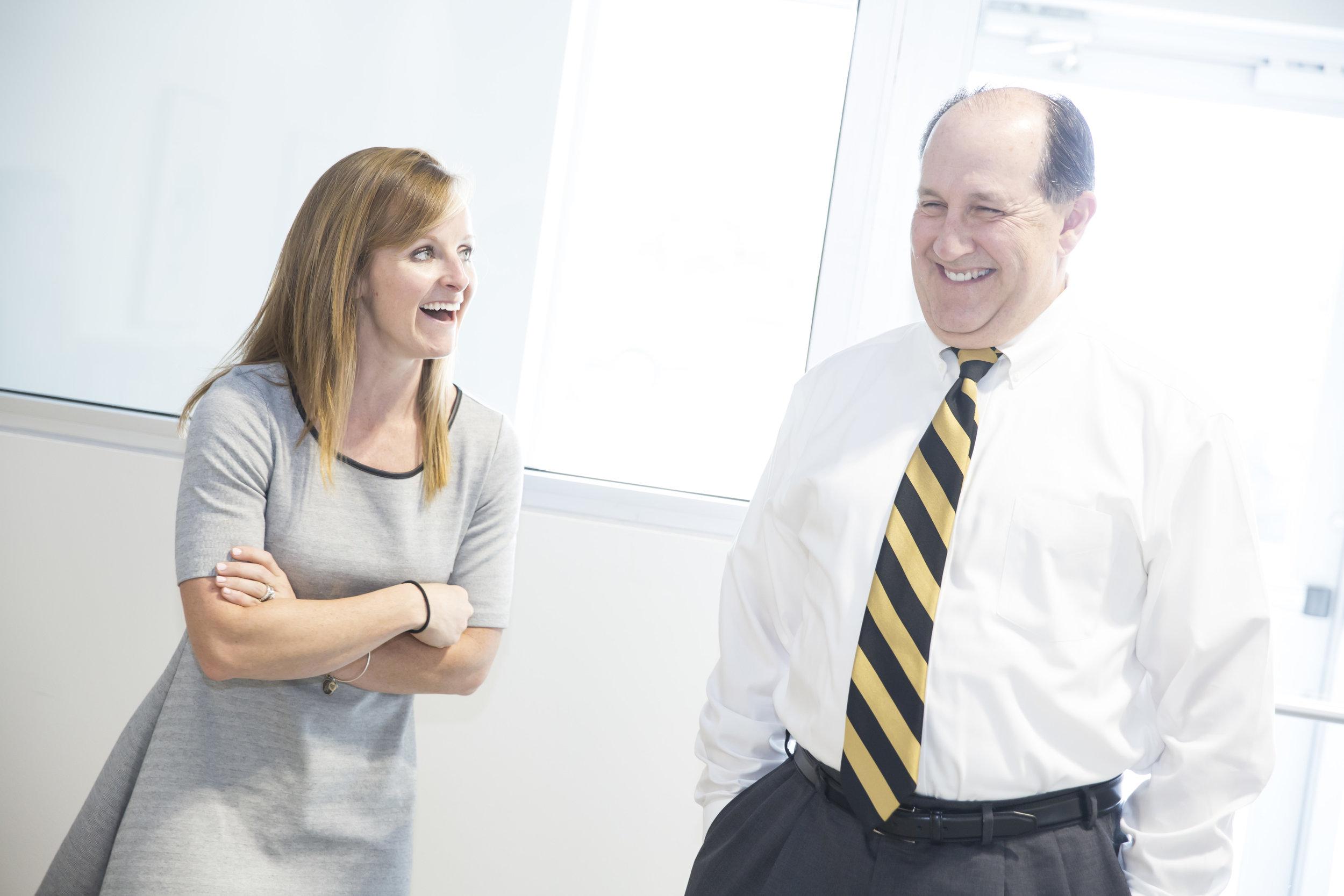 Amanda and David Clithero of  Hawthorn Bank