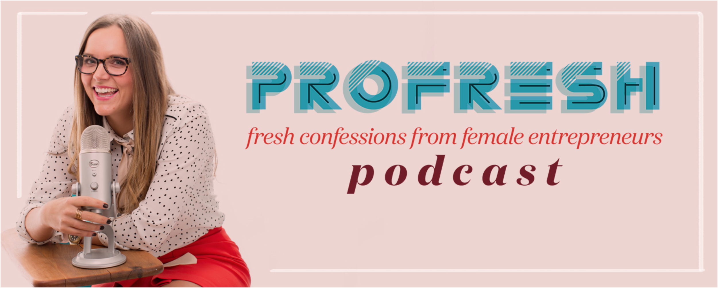 Profresh Podcast:  one of my favorite ways to transition from boss mode to mom mode is to listen to a podcast on the way to preschool pickup. Lately, I've been obsessed with the Profresh Podcast hosted by our dear friend (and mentor, marketing genius, overall girl crush, etc.) Kristen Brown. Each week a new female entrepreneur is featured and I've been loving the brilliant pieces of advice and realness this podcast offers in just 30-45 minutes!  You can download Profresh here.