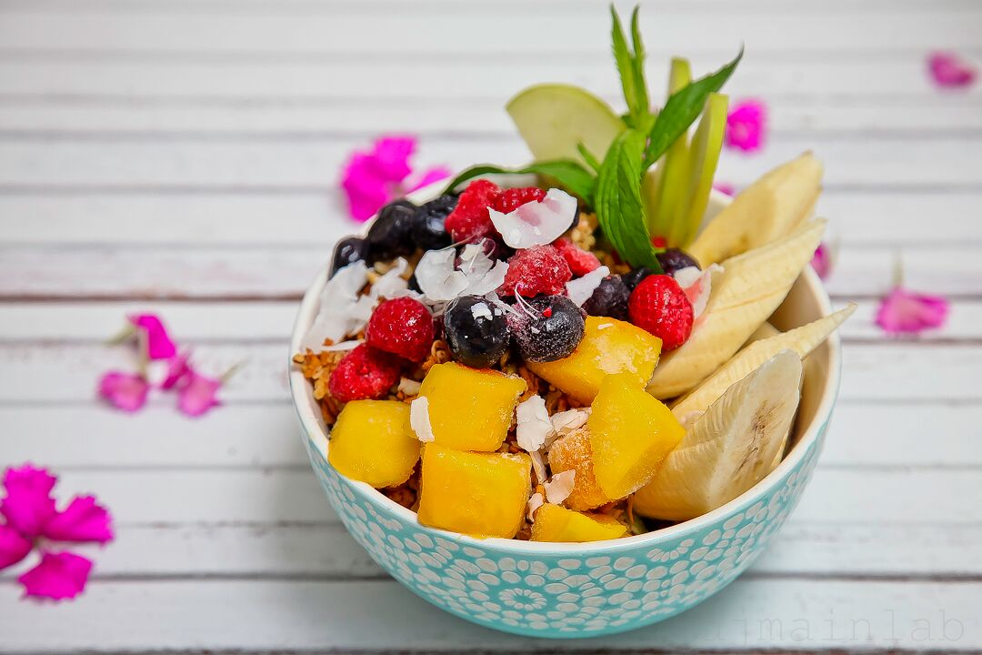 bowls - Morning energy with acai, protein or green goddess
