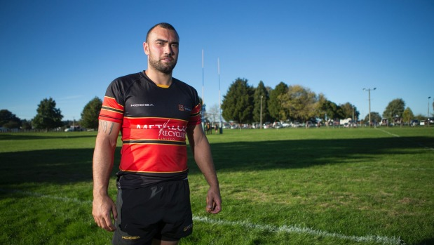 Charlie Ngatai pulls on Varsity colours for the 2017 season.  Photo: Dominico Zapata/Fairfax NZ