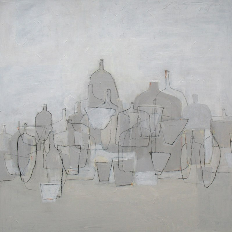composition in beige