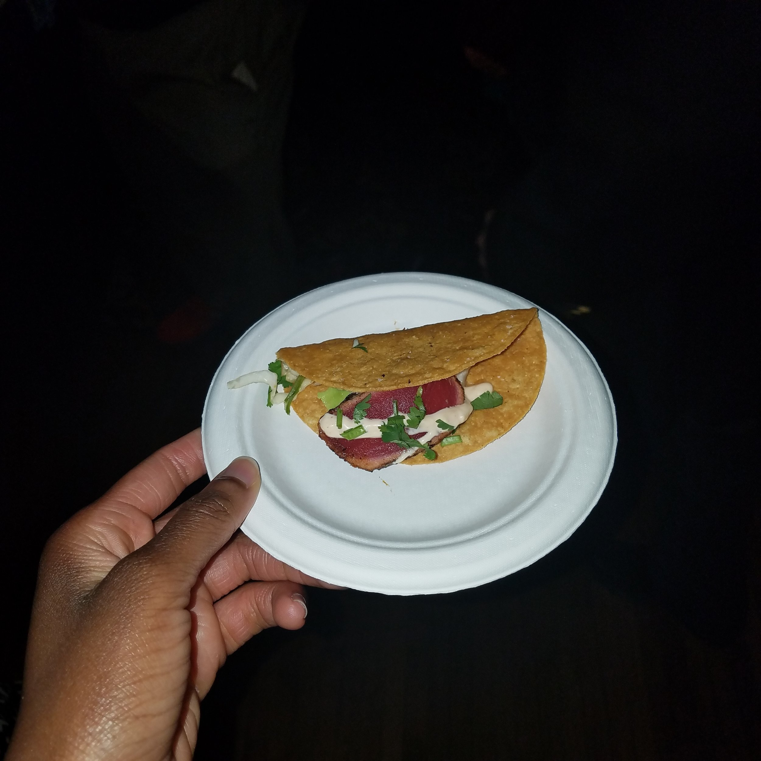 Grill On The Alley's Tuna Taco