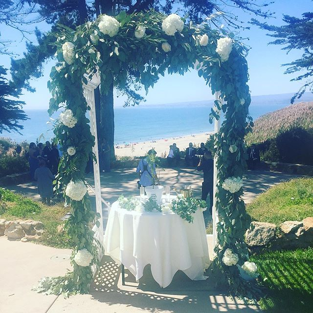 A beautiful wedding at #seascapebeachresort