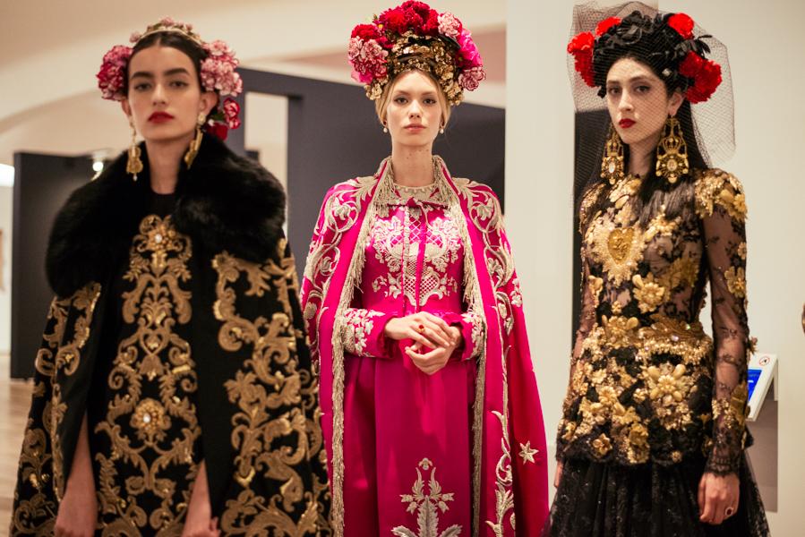 - Dolce & Gabbana Alta Moda 2018 collectionphoto via INFINITE COLOR PANEL