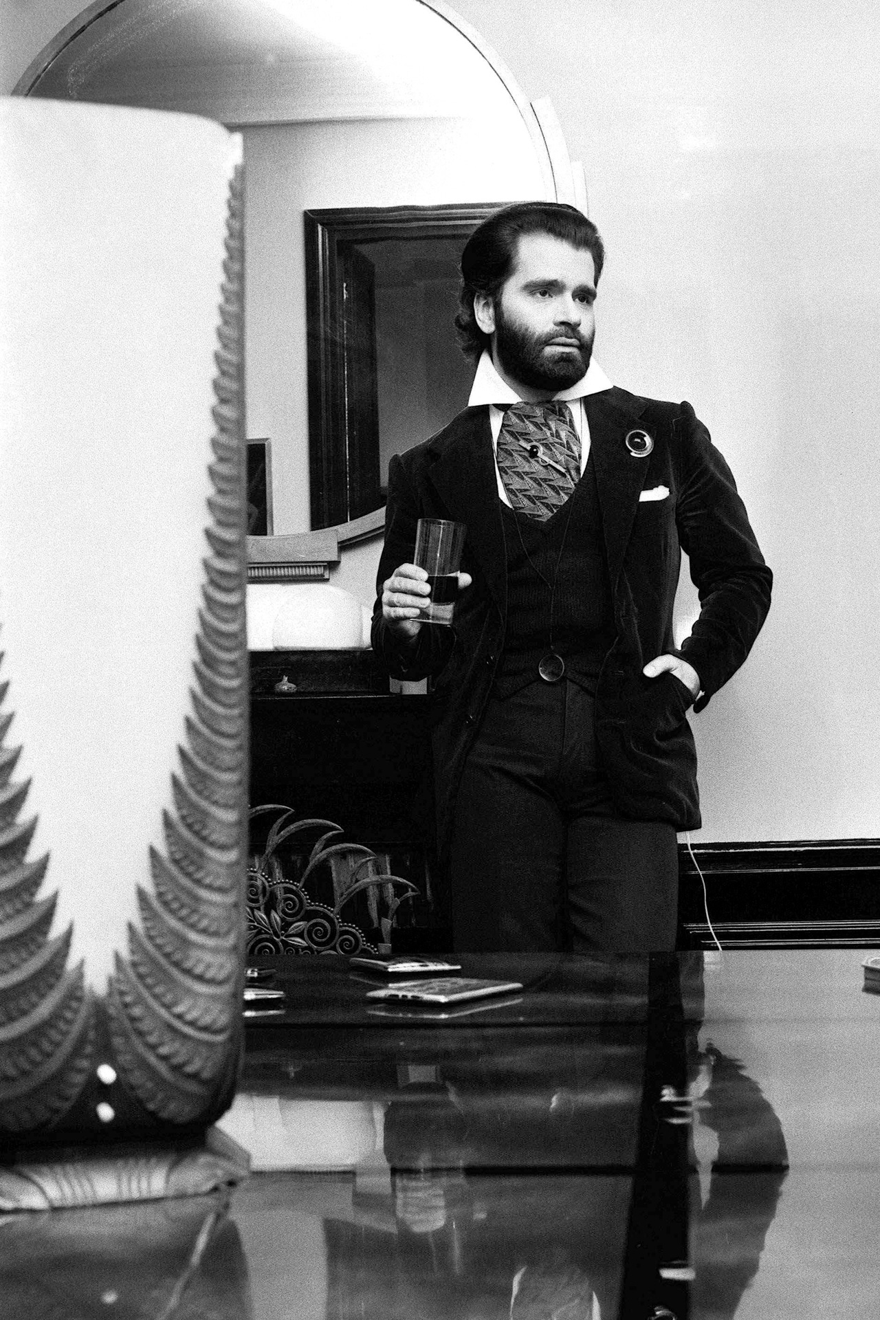 Young Karl in 1973.