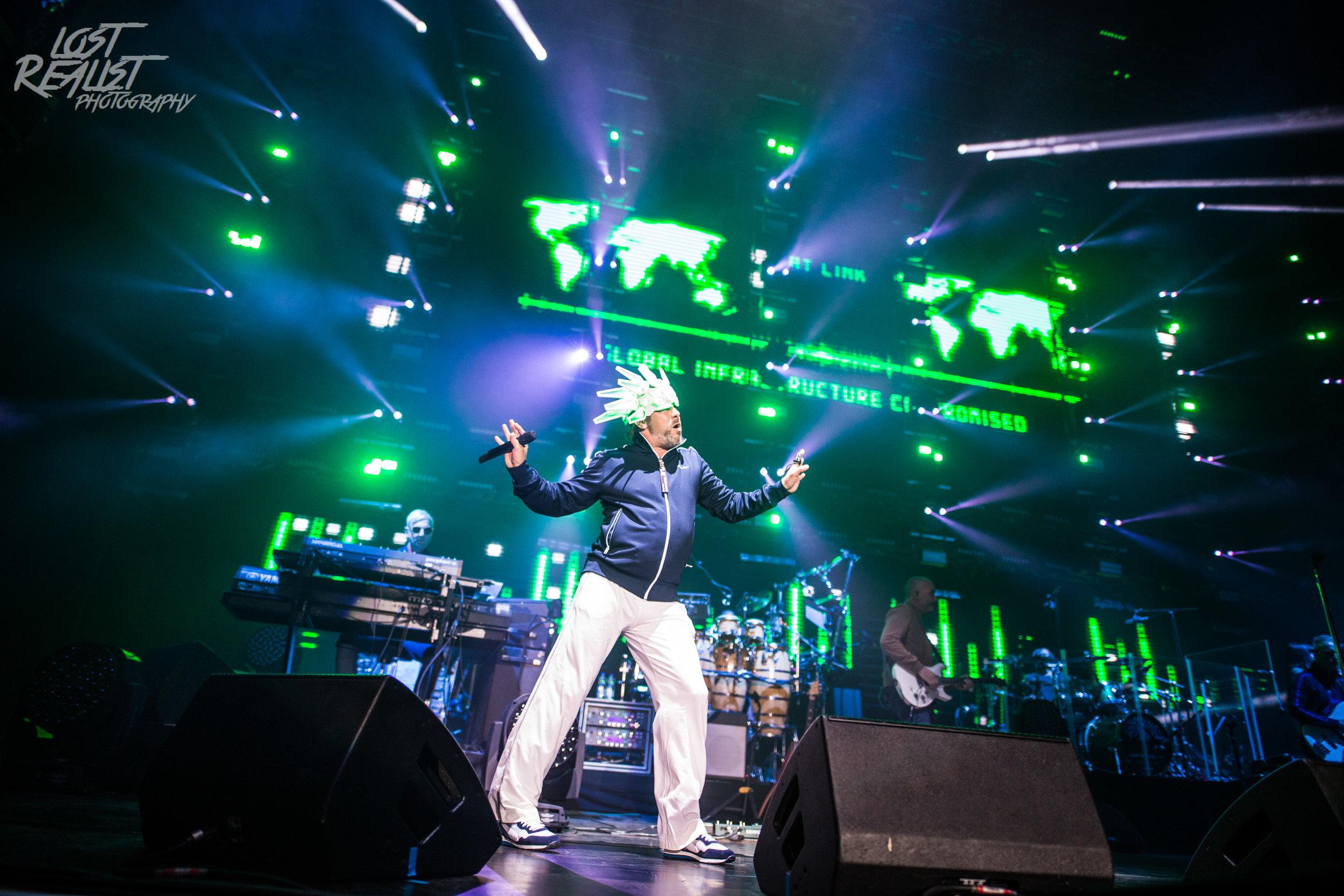 28.05.2019: JAMIROQUAI - Hamburg, Barclaycard Arena