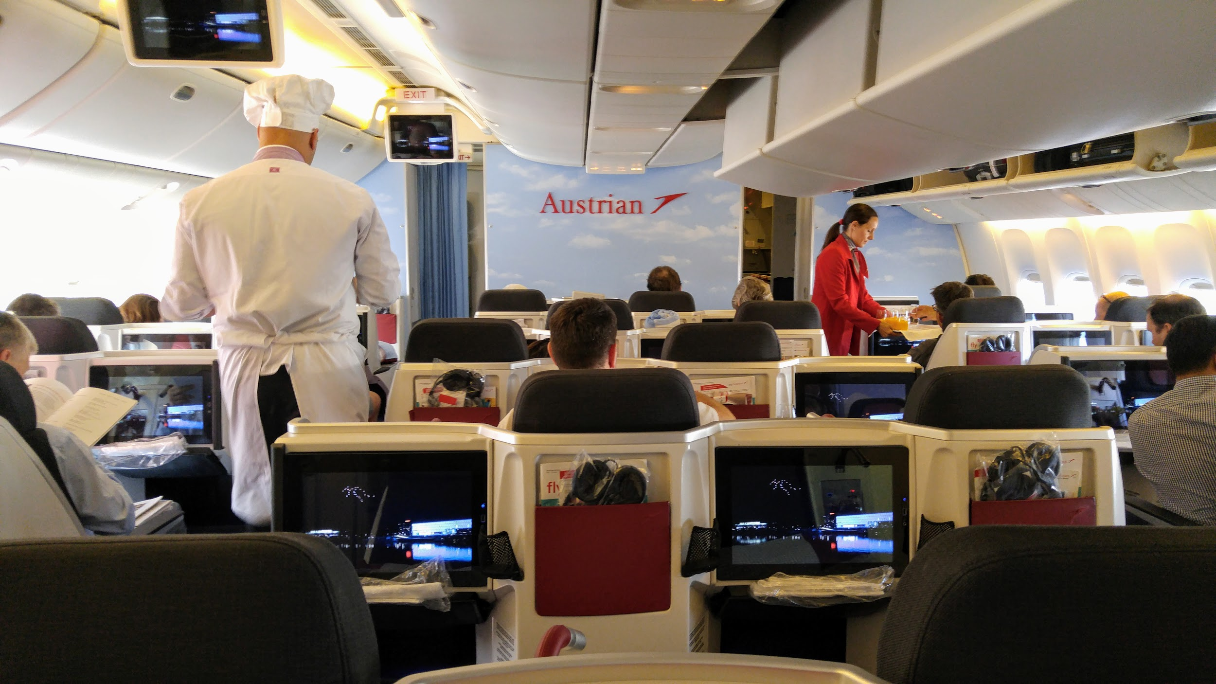 Easy Go Traveler, Austrian, Austrian Airlines, First Class, Business Class, Luxury Travel, Points and Miles