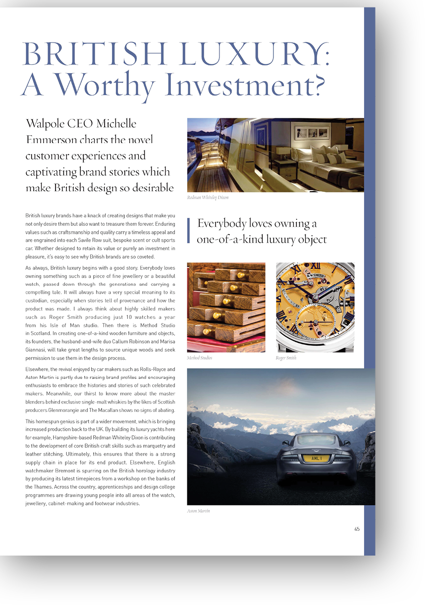 Article on is British Luxury worth the Investment