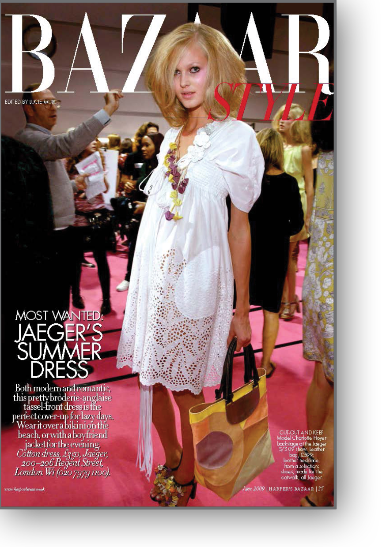 Juno Style Opener for Harpers Bazaar Magazine