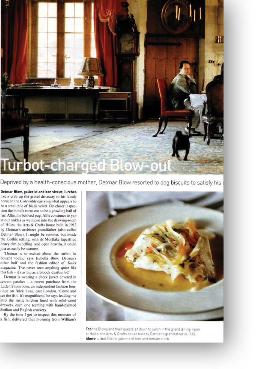 Detmar Blow for the Telegraph Magazine