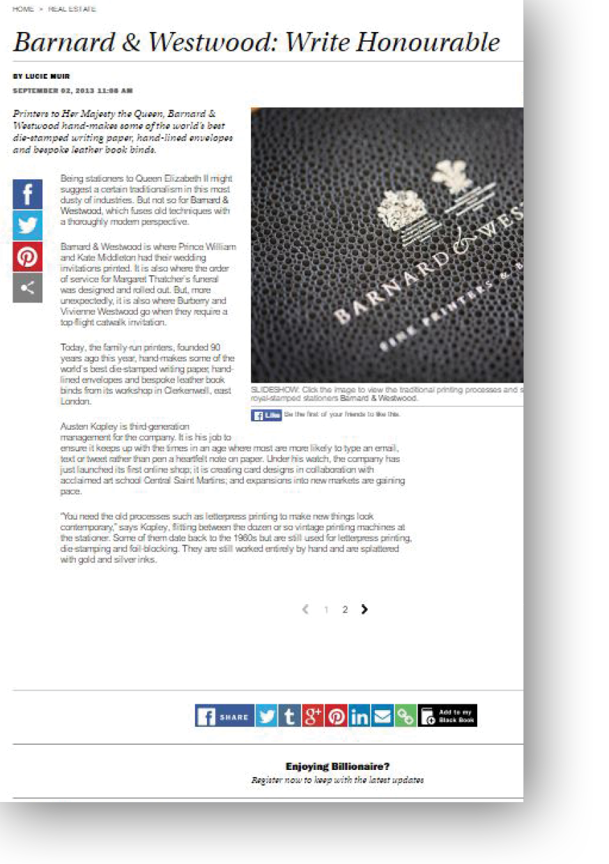 Barnwood & Westwood Write Honourable by Lucie Muir
