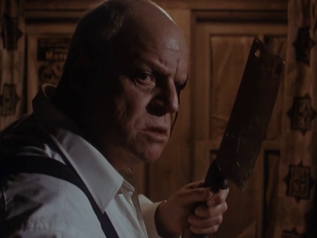 """Rickles' character """"Mr. Ingels,"""" moments before performing an act he apparently could have easily done many decades earlier in order to make his life easier..."""