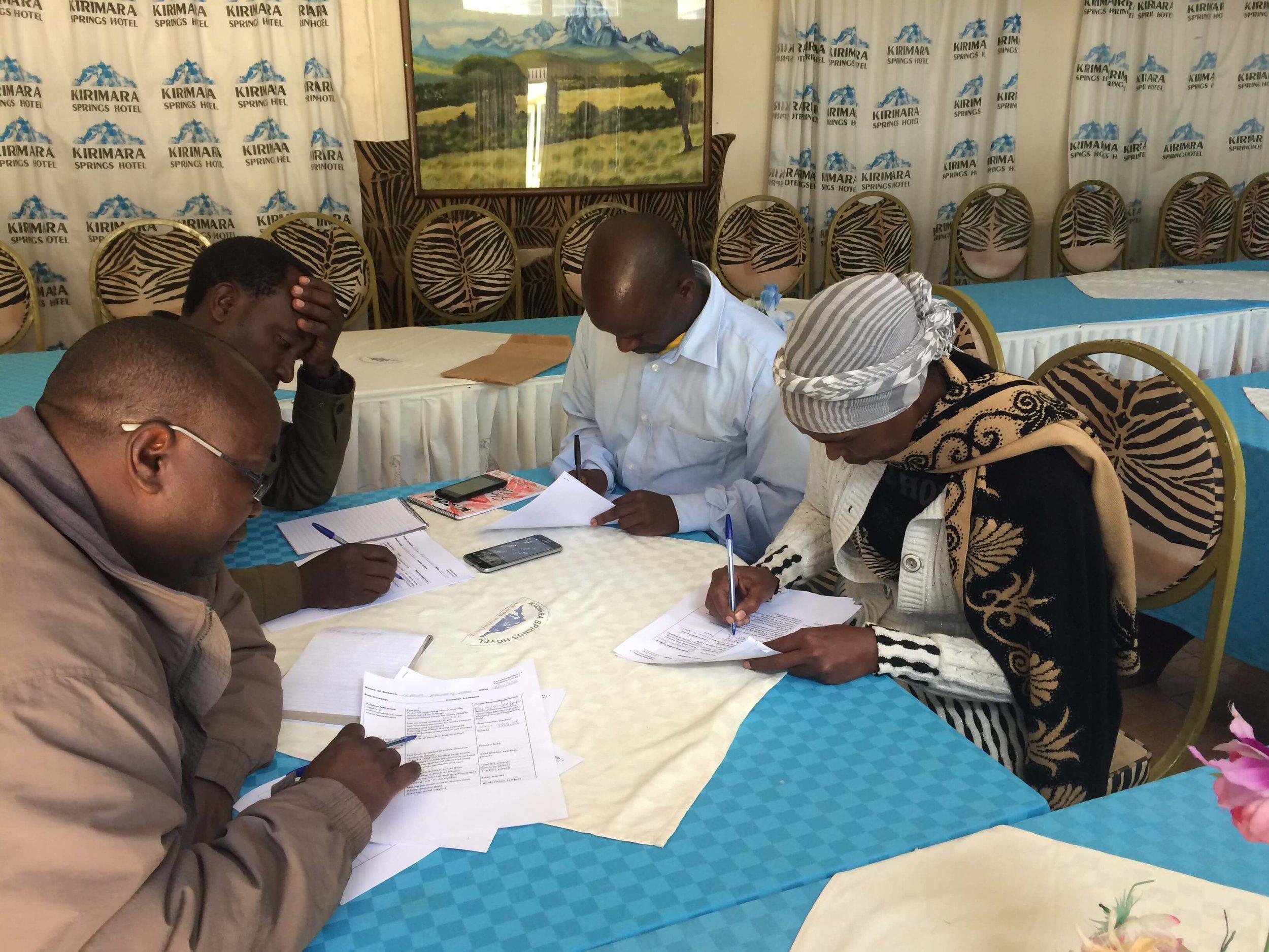 Laikipia Participants at Work.JPG