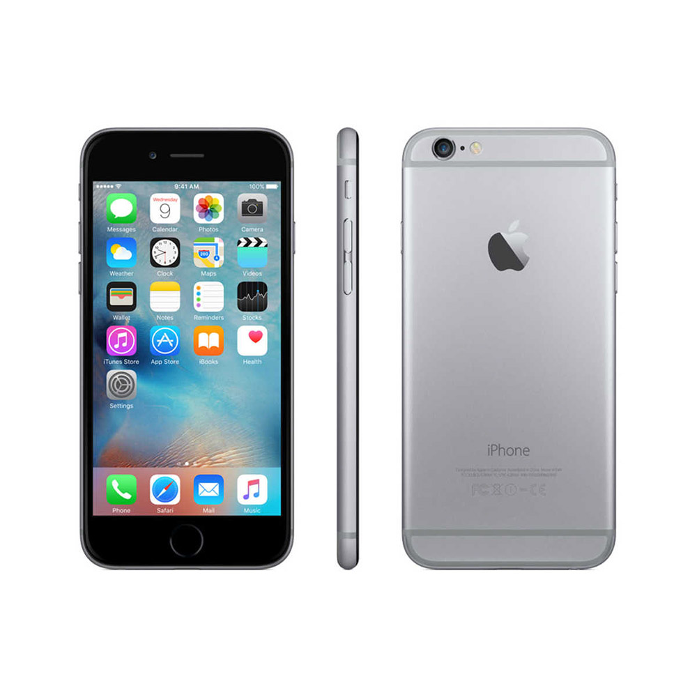 iPhone 6 (Space Grey 64GB) rigenerato - A SOLI 319 €