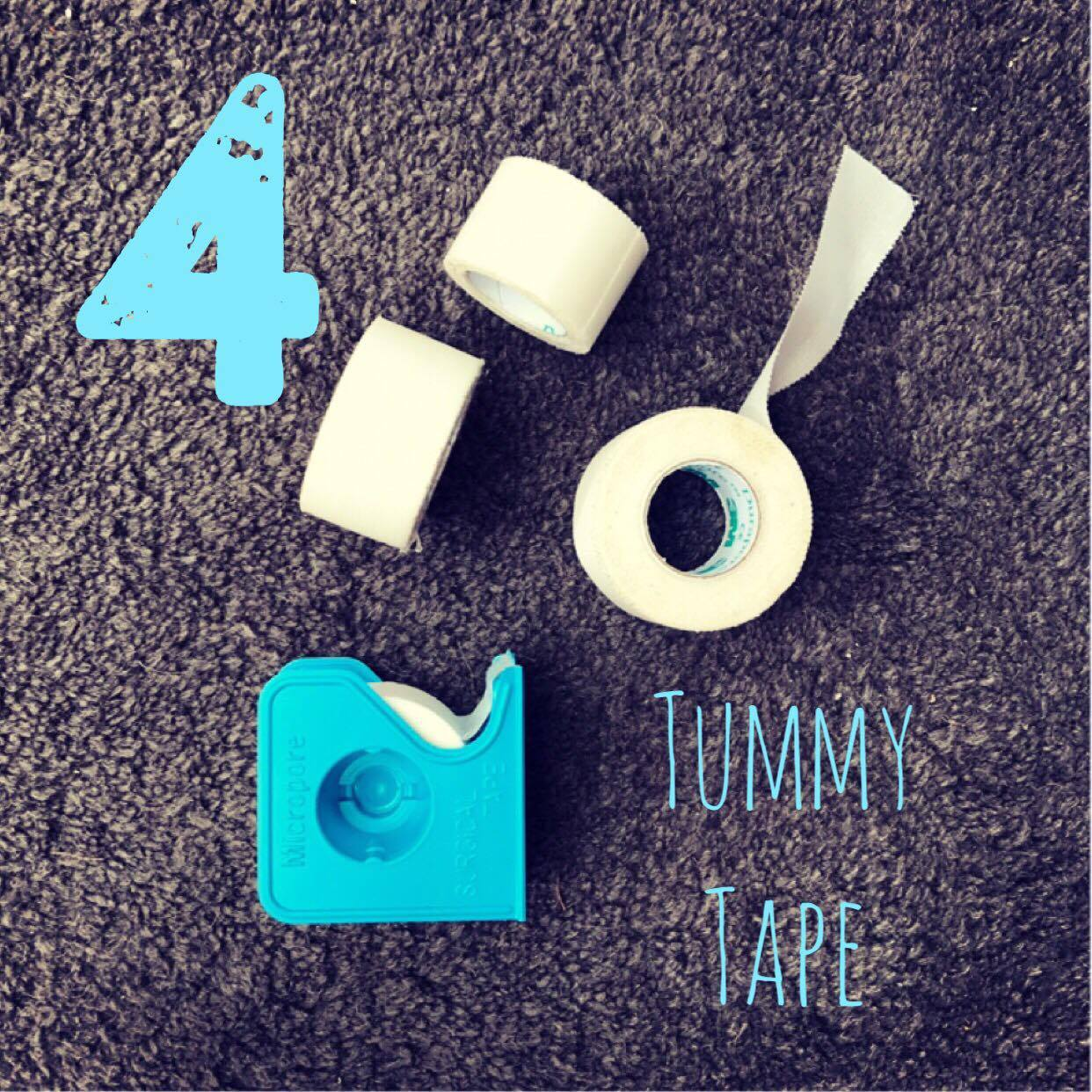 4. Tummy Tape  We have been playing around with Arlo's schedule a bit but for the most part, he does a few hour long feeds through out the day and then a continuous feed all night long. Because of this, we were leaving his extension taped to his tummy between feeds. This made it much easier on his sensitive skin. We also make sure to tape it down over night when he's rolling around in his bed. Tapes i would recommend are the typical  silk tape  that DME companies supply but can also be found on Amazon and in the hospitals. We 'clean the room' of all supplies when we leave the hospital and have a nice little supply going. When Arlo's tummy gets really irritated or red, we switch taping side to side and then also use a  paper tape  that is less sticky and intense. Once his tummy is healed, we switch back because he's a toddler and has been very grabby lately.