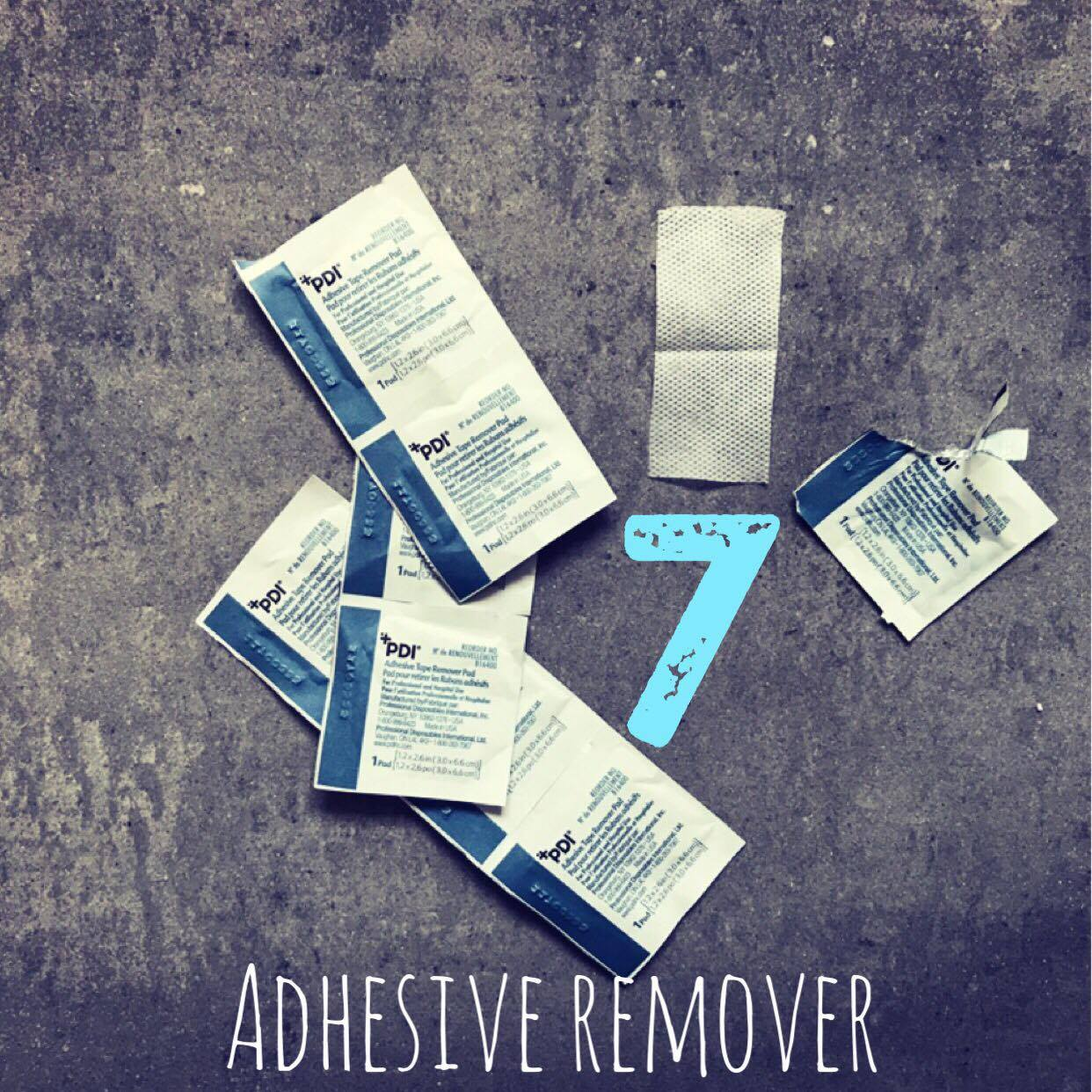 7. Adhesive Remover  As mentioned above, g tubes extensions and taping become a huge part of your daily routine. Tape always leaves a dark sticky residue after pulling it on and off day in and day out. I use these  adhesive remover pads  before bath time. It's almost like Goo Gone but for the body. It does have a strong scent from the alcohol in them so we do a warm sudsy bath right after. We also 'collect' these from the hospital at the end of each trip.