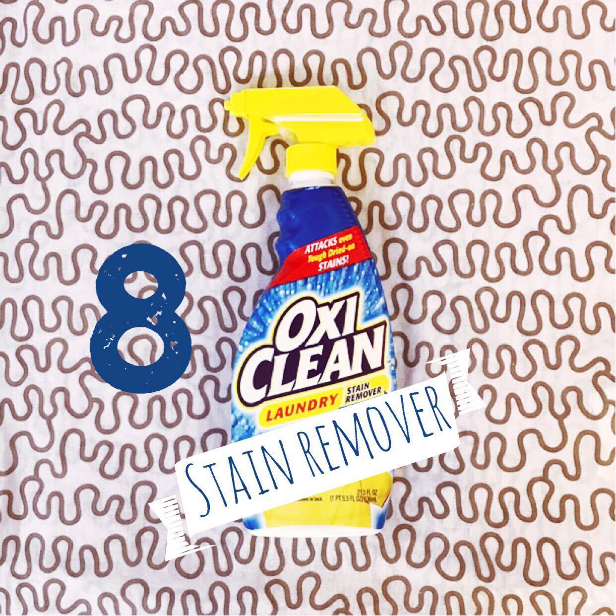 "8. Stain Remover  Thanks to my siter-in-law Jordan for this awesome find. Have you learned the meaning behind the term ""fed the bed"" yet? It means there was a tube or pump malfunction overnight and you will most likely wake up to formula, milk, or blended diet all over your child and crib. It's a mess. Find a trusty  stain remover  that really works. This one is a great pre treat for laundry and has worked wonders saving some favorite sheets and outfits. On that note, you might want to splurge and treat yourself to the  Little Green Machine  for cleaning carpet stains as well. This one is a great price and REALLY easy to use and clean up quickly after stains compared to large vacuum sized carpet cleaners."