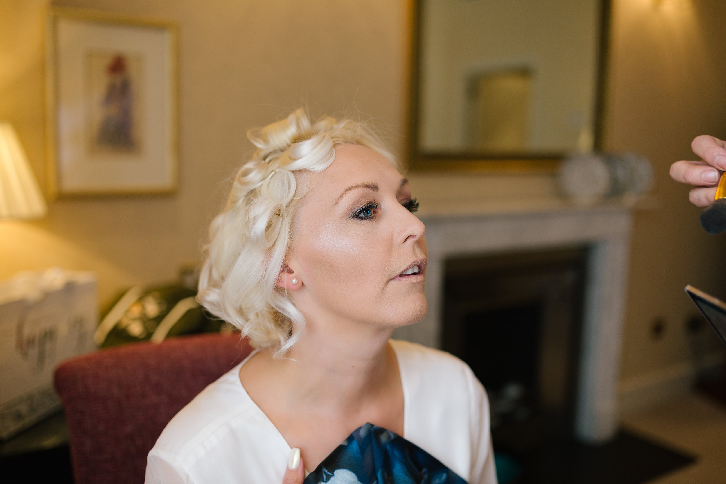 bride prep   - I love taking shots like this in natural light.