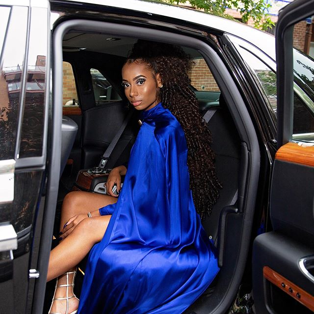 Definitely had to post my own princess on her prom day🥰 👈🏾swipe for all pics  #promseason #promqueen #photography #newyorkphotographer #brooklynphotographer #ootd #instaglam #sheslays #portraitphotography #melaninpoppin #bluedress #cape #fashionista