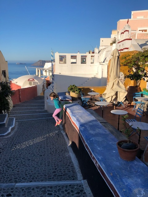 Early morning Santorini before the crowds arrive