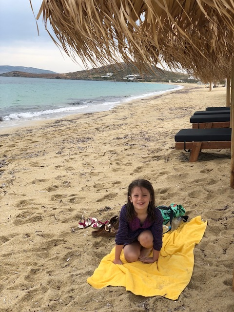 Agios Prokopios - gorgeous beach and fun town, would like to explore more!