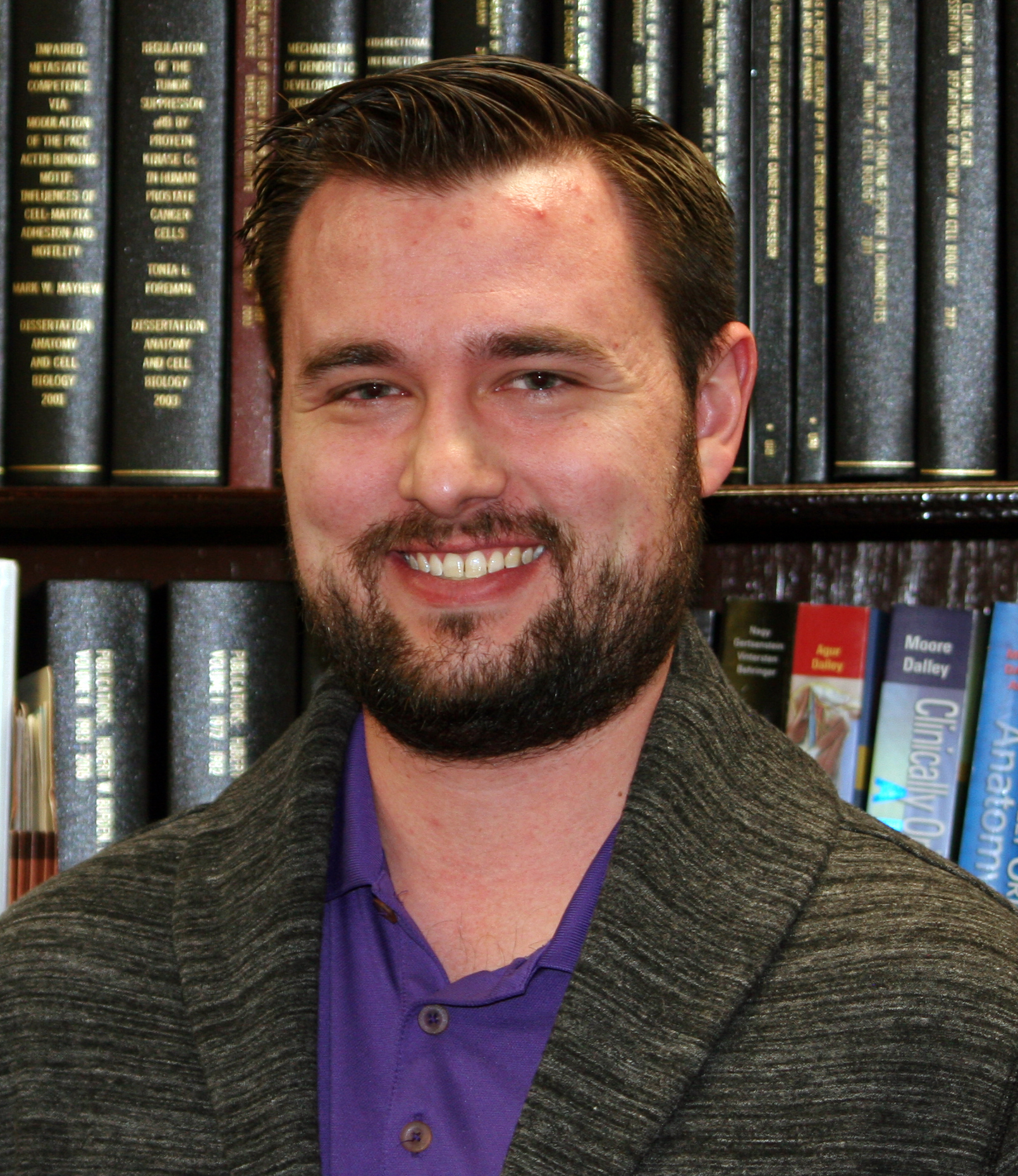 Taylor Johnson (Ph.D. student)   A Florida native, Taylor graduated from Southeastern University with a B.S. in Biology/Pre-Med. At Southeastern, he was involved in student life, lifeguarded, and ran cross-country. Upon graduating, Taylor interned for GTD Scientific and taught high school science courses. He then attended the University of Central Florida (UCF) and earned Masters Degrees in Biotechnology and in Biomedical Sciences. Taylor taught extensively at UCF and conducted research in the Metabolic and Cardiovascular division under Dr. Dinender Singla, focusing on cancer drug-induced cardiac and skeletal muscle remodeling. He is interested in researching metabolic regulators of spermatogenesis and relationships between diets and metabolic diseases with male reproductive health. He enjoys volunteering and anything sports-related.   Email:  johnsontayl18@students.ecu.edu