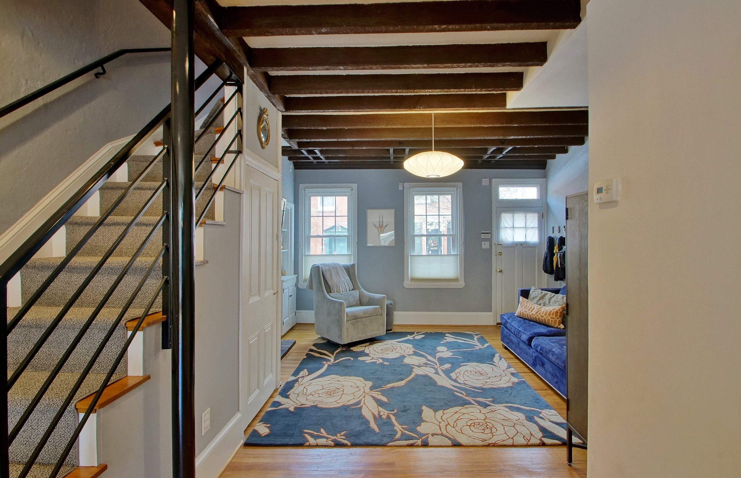 Fitler Rowhome Open Stair
