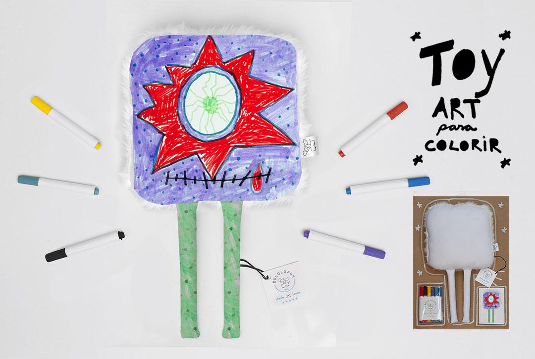 toy art para colorir