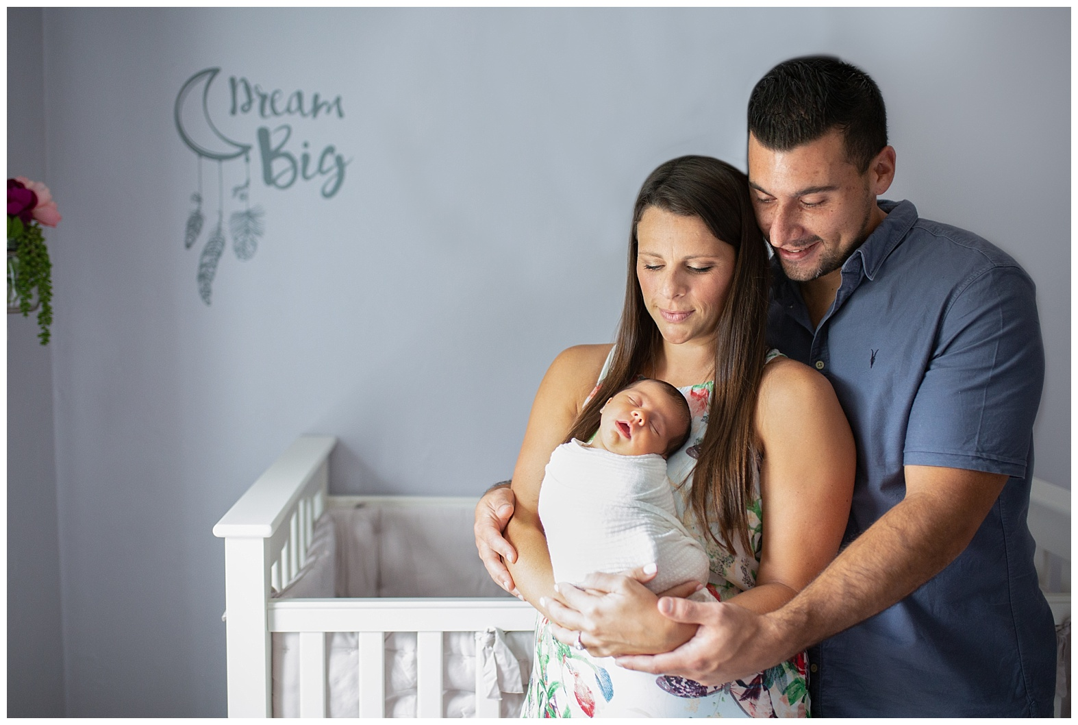 Lifestyle Newborn Photographer home Miami Broward South Florida