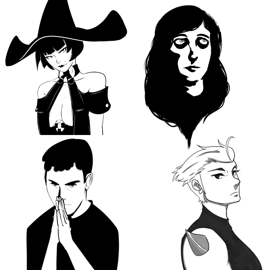 Bust commissions (various)