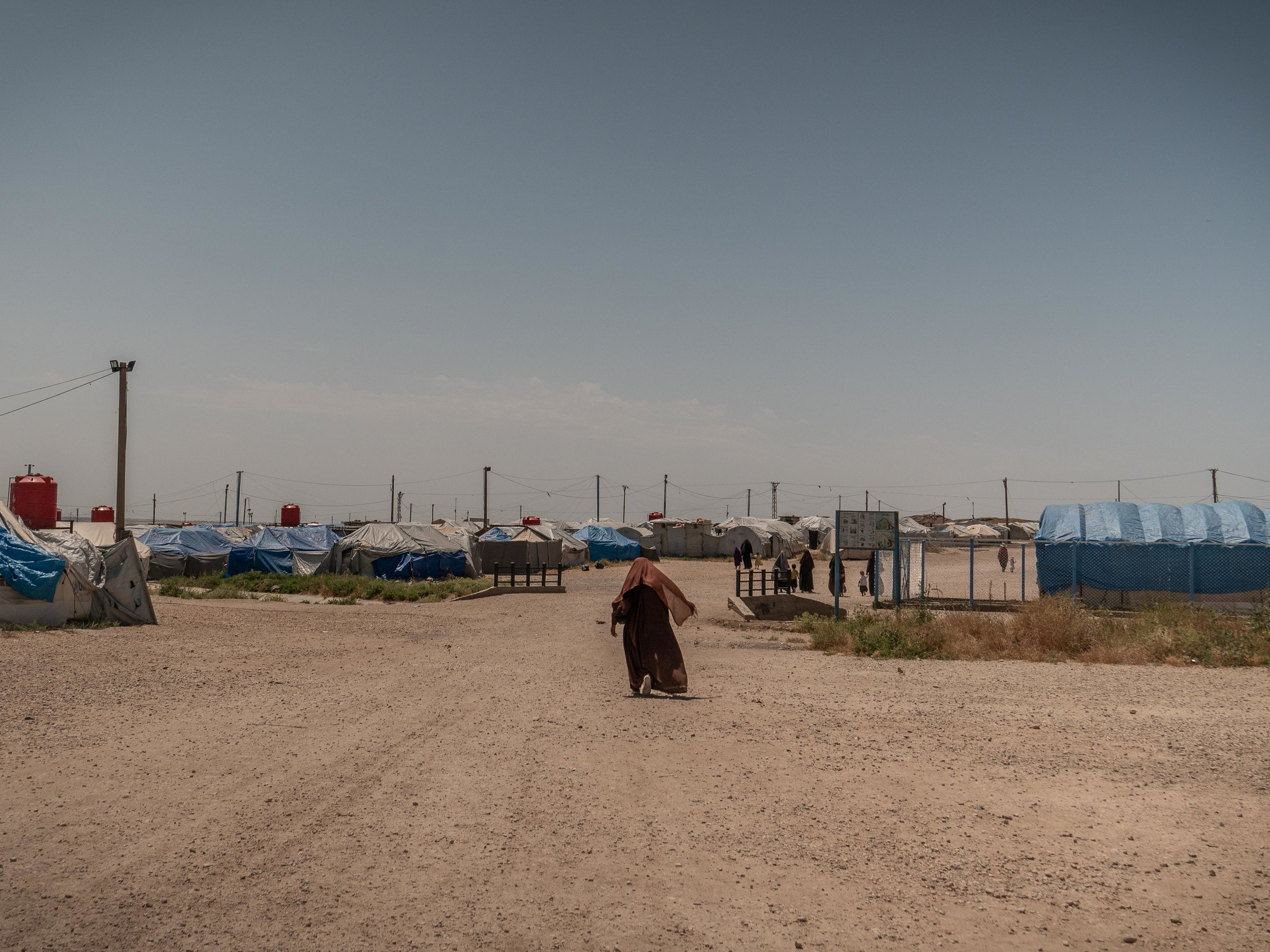 01/06/2019 - Roj Camp, Syria - the prison camp of Roj, where ISIS families and relatives are detained.