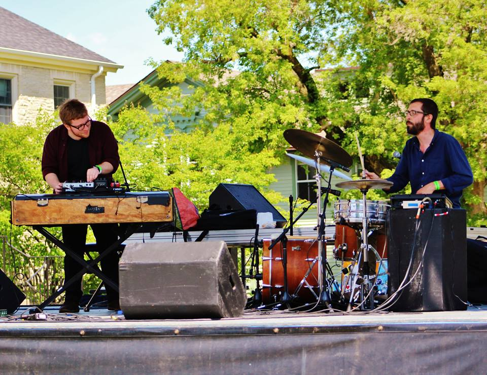 YINS - YINS, featuring Matt Blair (piano, keyboard, and effects) and Devin Drobka (drums, percussion, and effects) is a Midwest-based duo that bridges the gap between jazz, improvisation, experimental, and electronica music.