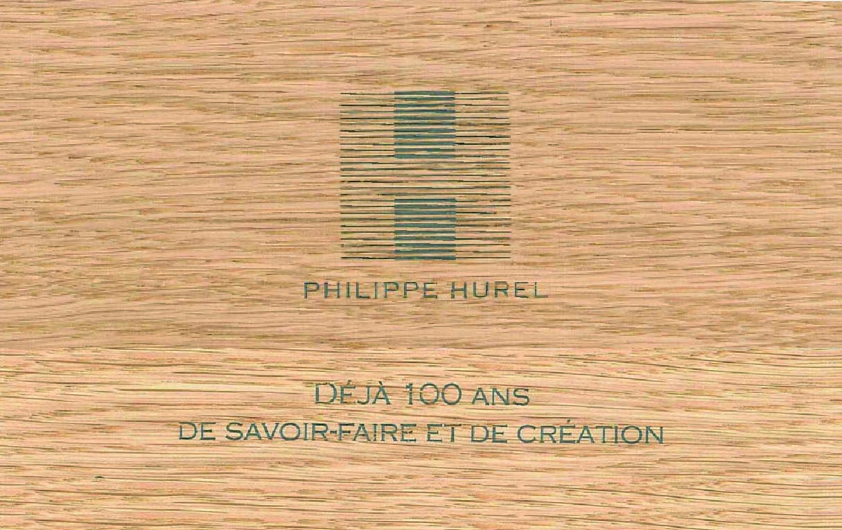 2011 –  - Celebration of the centenary of Maison Philippe Hurel.
