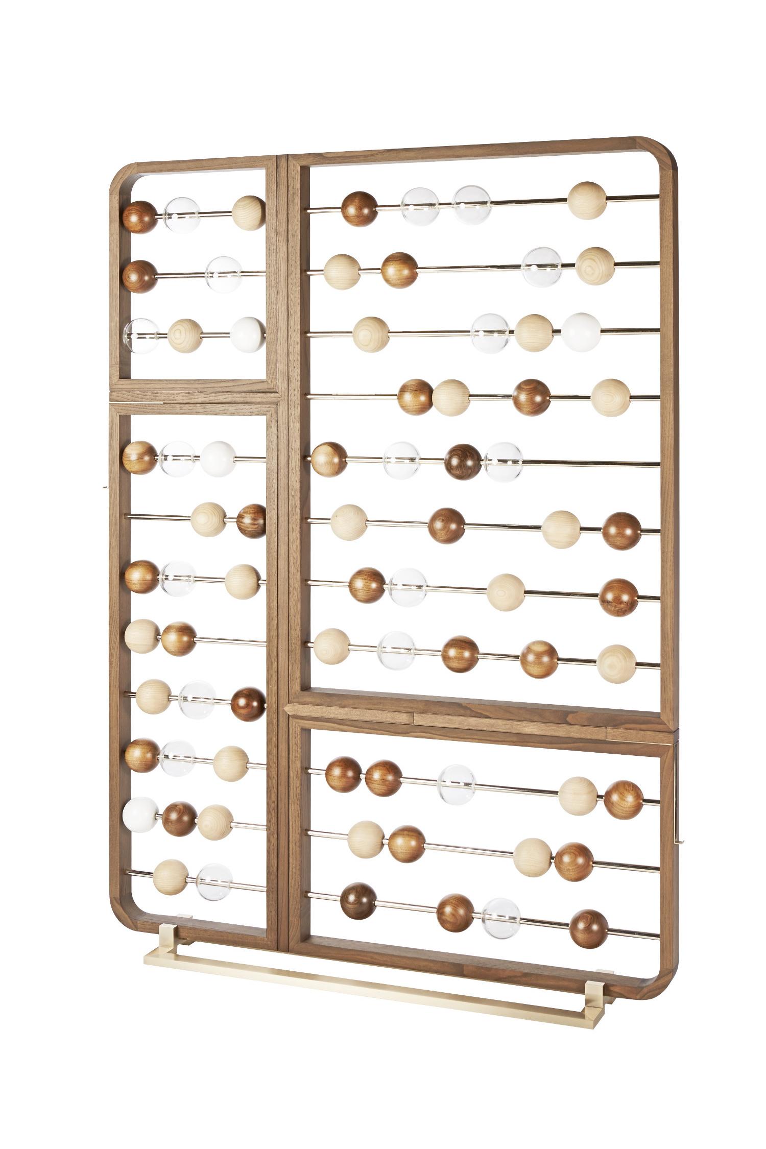 les riviÈres du temps - Abacus, design by Elliott Barnes —