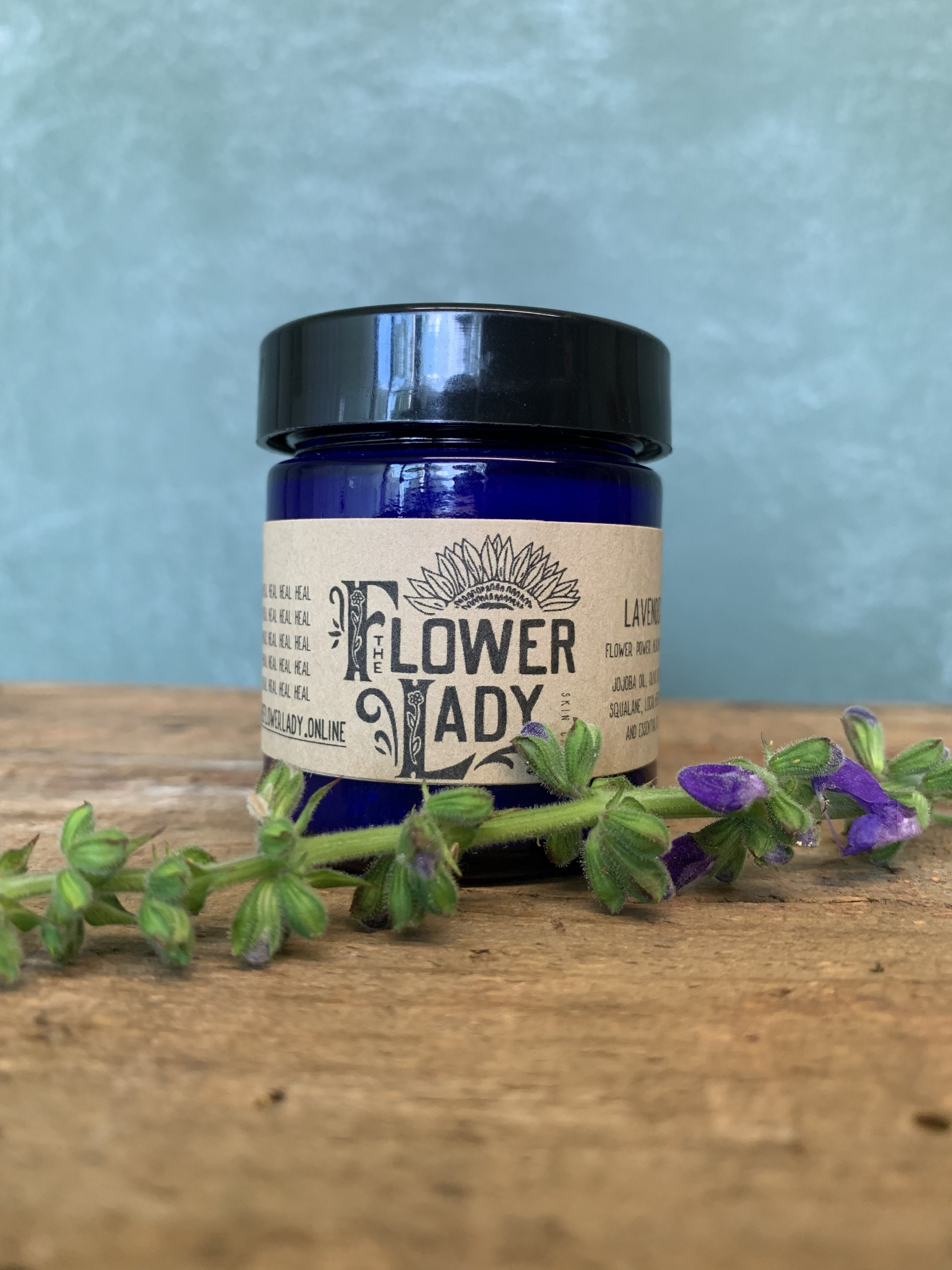 Flower Power - Natural, simple, non-toxic healingsalves for troubled skin.