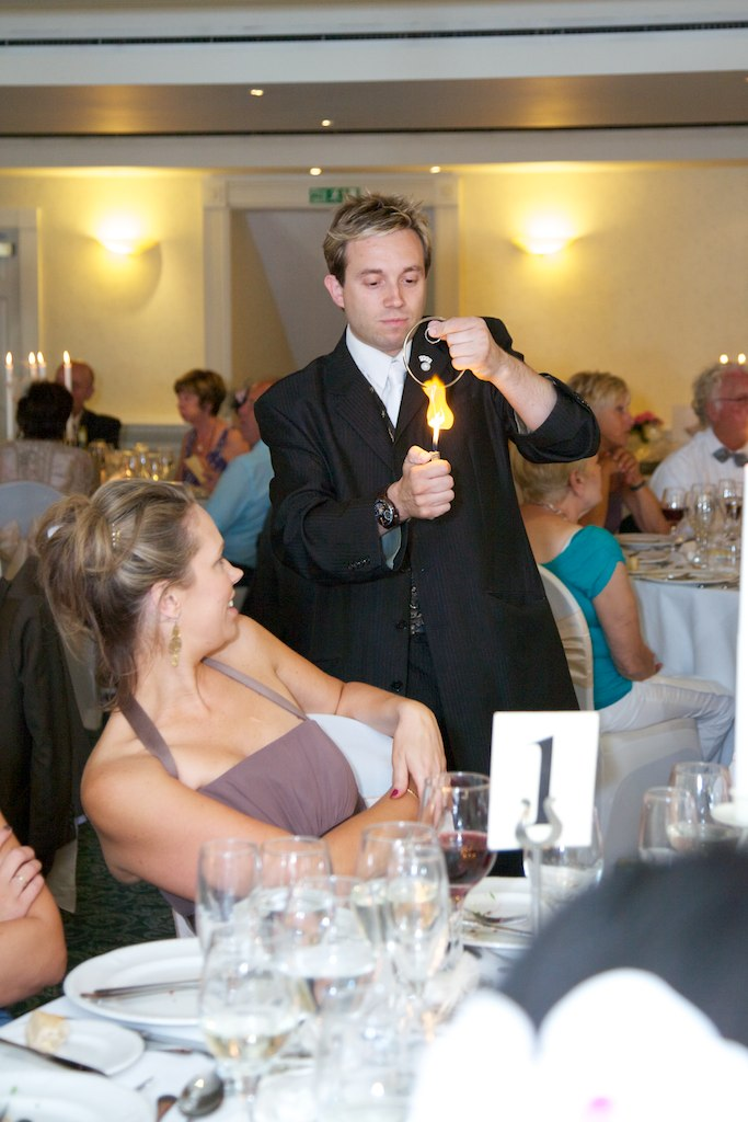 Wedding Magician for Hire