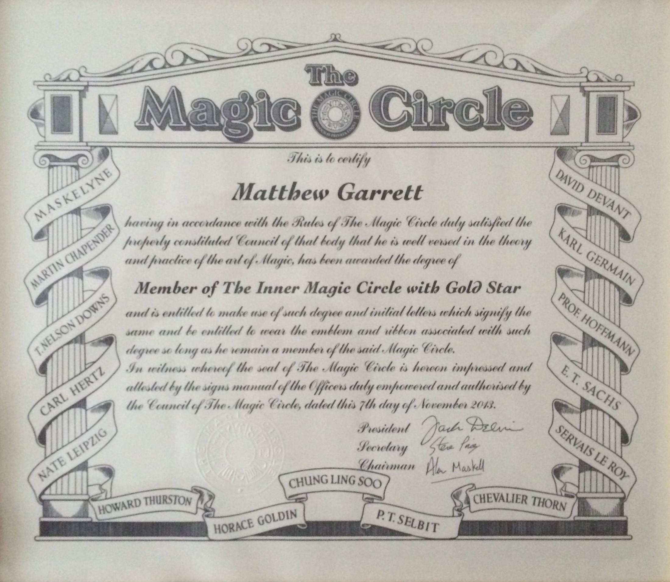 Magic Circle Magician Tamworth