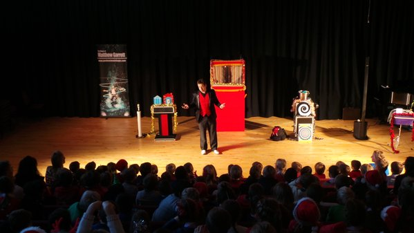 An Indoor Punch and Judy Show