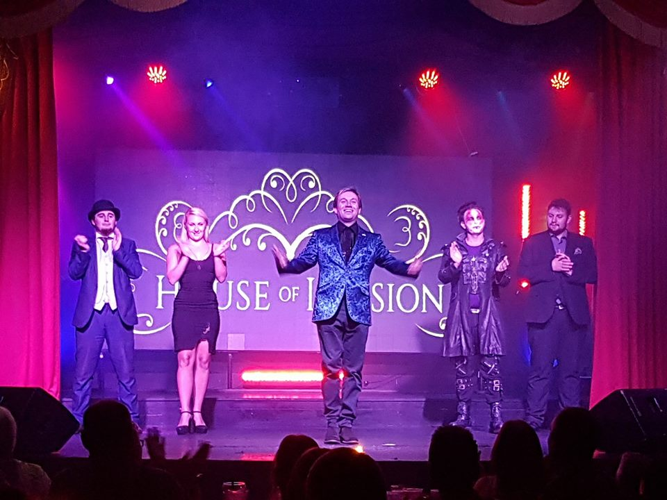 House of Illusion Magician