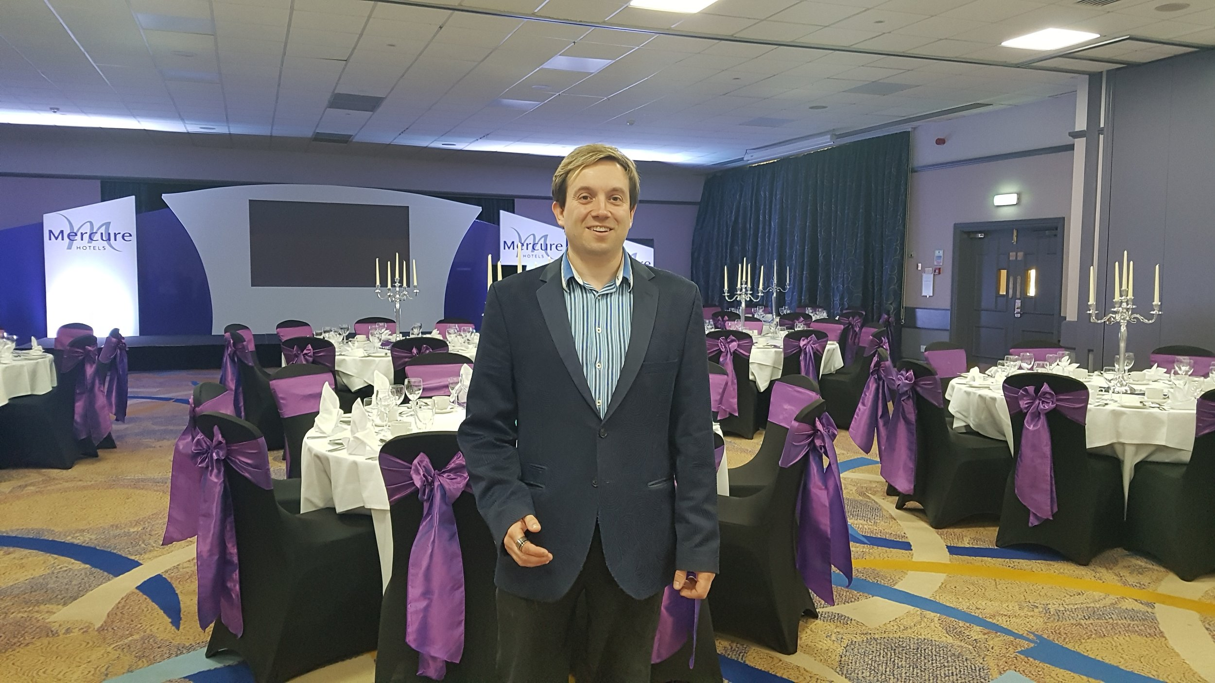 Grand Hotel - Mercure Leicestershire Magician