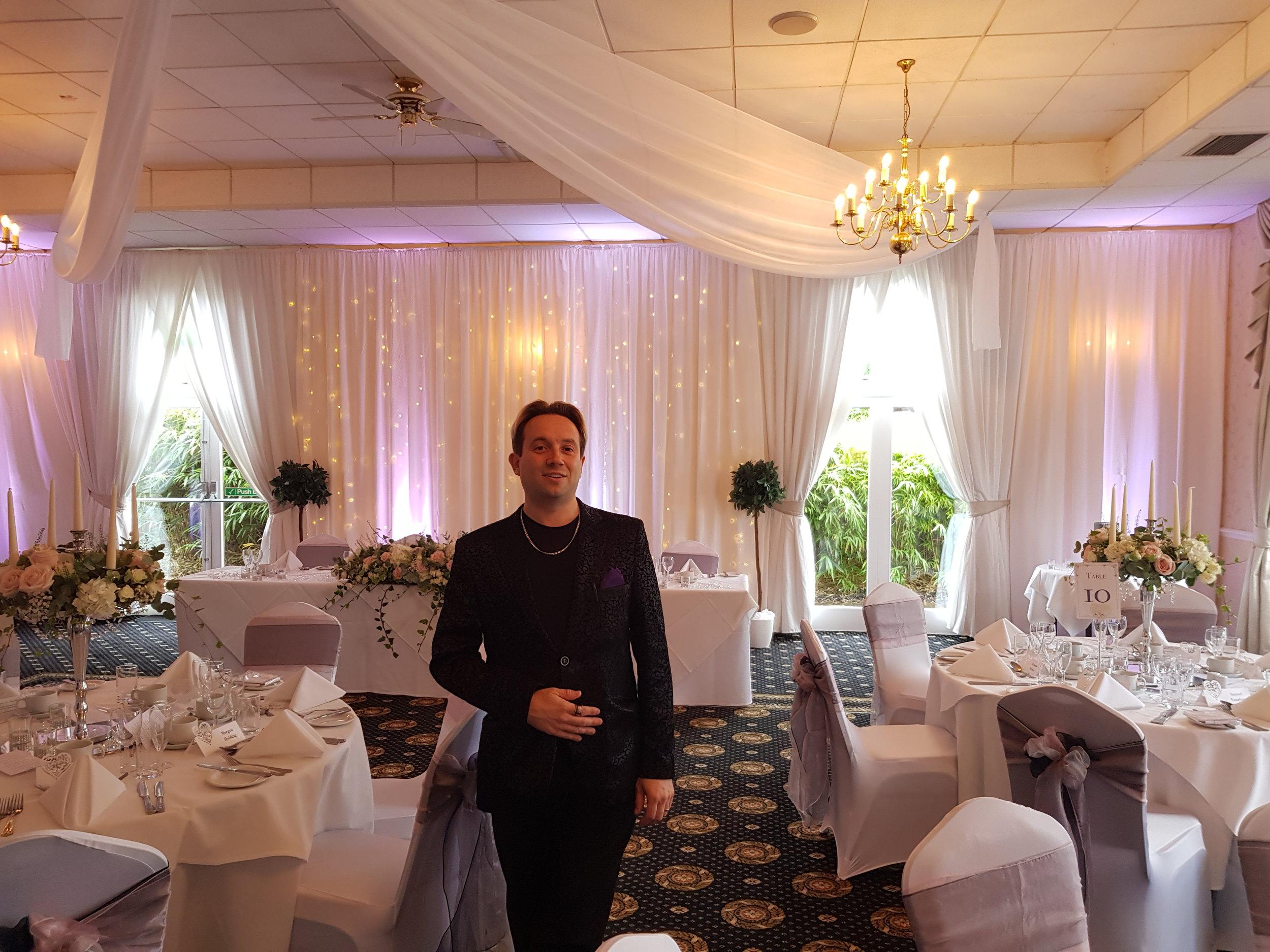 Wedding Magician Corby